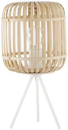 Boho-Tischlampe Adam aus Bambus