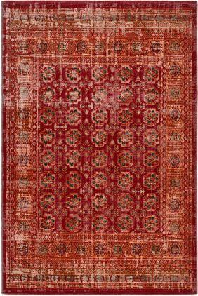 In- & Outdoor-Teppich Tilas in Rot/Orange, Orient Style