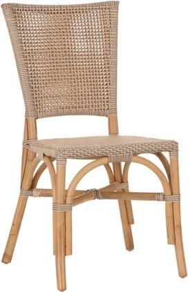 Krzesło z rattanu Ainara