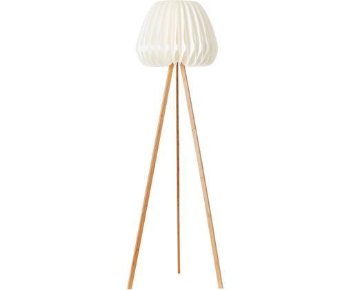 Design Tripod-Stehlampe Inna aus Bambus