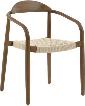 Armlehnstuhl Nina aus Massivholz