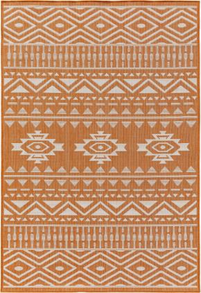 In- u0026 Outdoor-Teppich Nillo mit Ethnomuster
