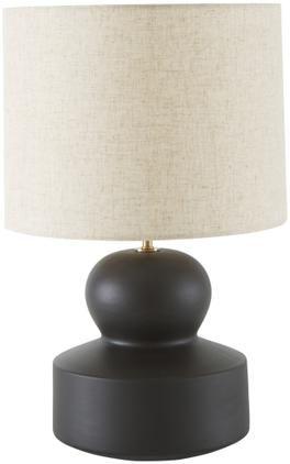 Große Keramik-Tischlampe Georgina