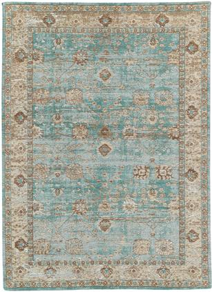 Ručne tkaný ženilkový vintage koberec Rimini