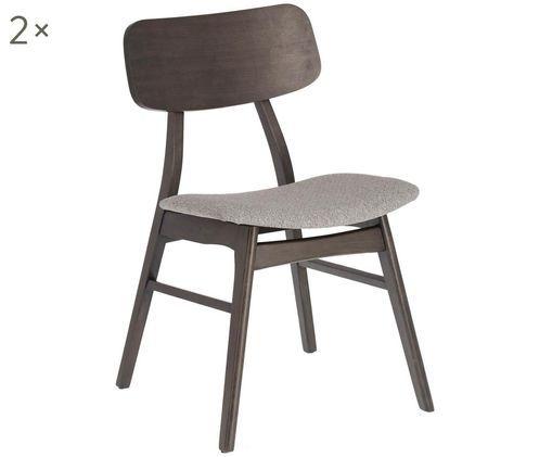Holzstühle Selia, 2 Stück