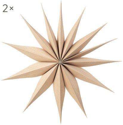 Deko-Sterne Venok, 2 Stück