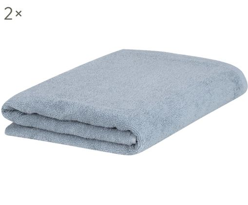 Asciugamano per ospiti Comfort, 2 pz., Azzurro
