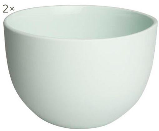 Schälchen Clay matt/glänzend, 2 Stück, Mint