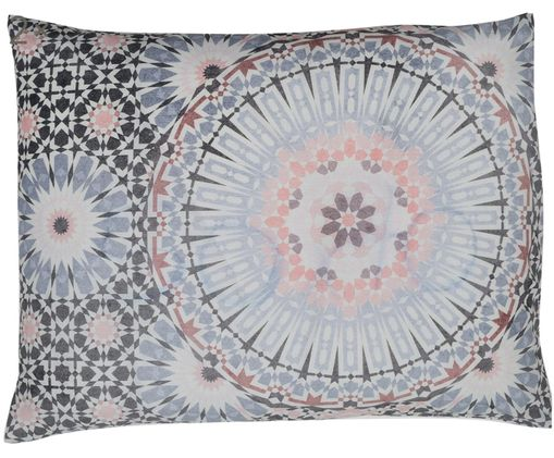 Taies d'oreiller en coton Bohemia, 2 pièces, Multicolore