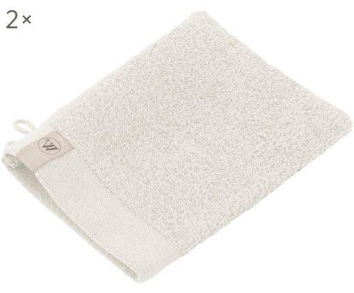 Guantes de baño Soft Cotton, 2uds., Beige claro, An 16 x L 21 cm