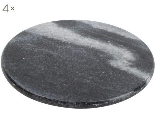 Marmor-Untersetzer Aster, 4 Stück