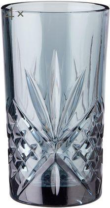 Longdrinkgläser Crystal Club mit Kristallrelief, 4er-Set