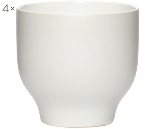 Mugs Sogbo, 4pièces, Blanc