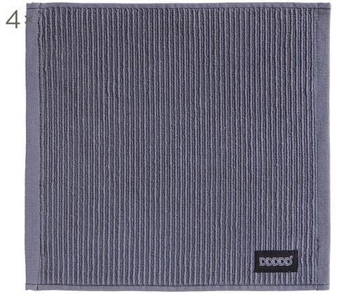 Serviettes en tissu éponge Basic Clean, 4pièces, Gris