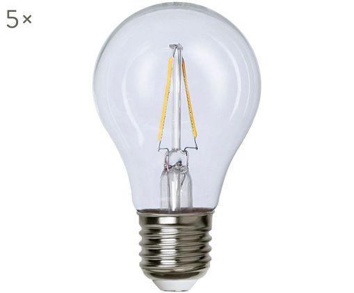 Ampoule LED Airtight Two (E27-2W), 5pièces, Transparent, nickel
