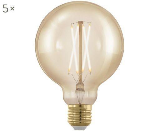Lampadina LED Cross (E27 / 4Watt) 5 pz., Trasparente, ambra