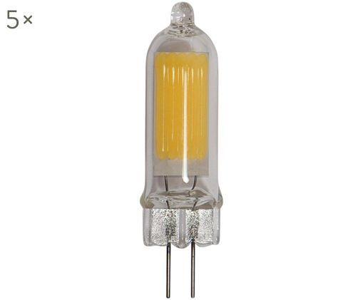 Lampadina a LED Halo (G4/1Watt) 5pz, Vetro, Trasparente, Ø 1 x Alt. 5 cm