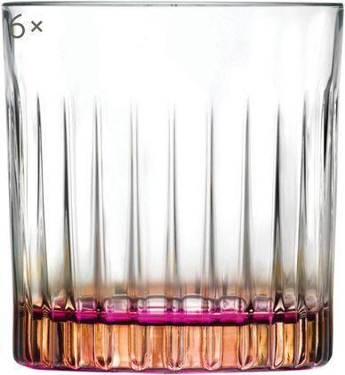 Gläser Gipsy mit zweifarbigem Luxion-Kristallglas, 6er-Set