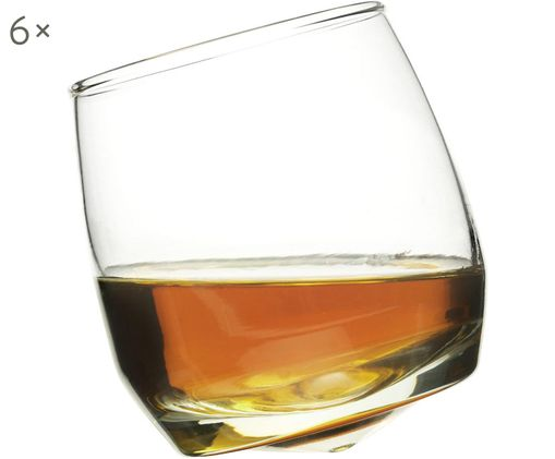 Whiskeygläser Rocking, 6 Stück
