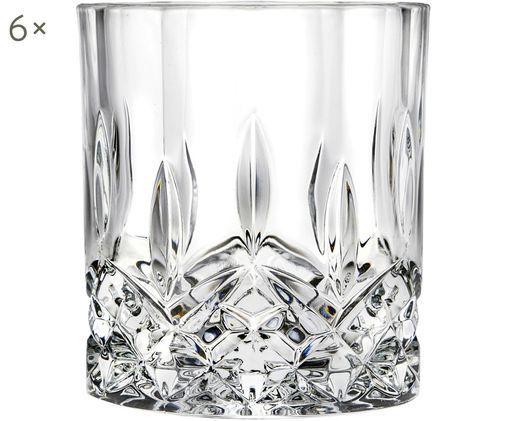 Kristall-Whiskeygläser Opera, 6 Stück, Transparent