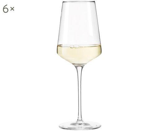 Bicchieri da vino bianco Puccini, 6 pz., Trasparente