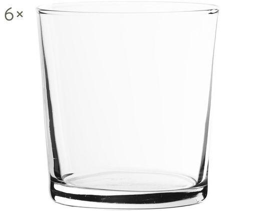 Szklanka do wody  Simple, 6 szt., Szkło, Transparentny, 370 ml