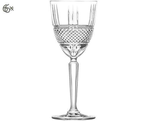Kristall-Weißweingläser Calicavino, 6 Stück, Transparent