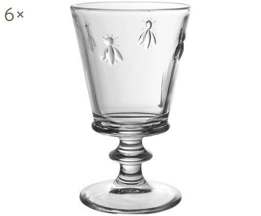 Szklanka do wody Abille, 6 szt., Szkło, Transparentny, Ø 9 x W 16 cm