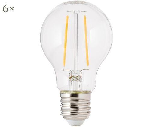 Żarówka LED Humiel (E27 / 4 W), 6 szt., Transparentny, Ø 8 x W 10 cm