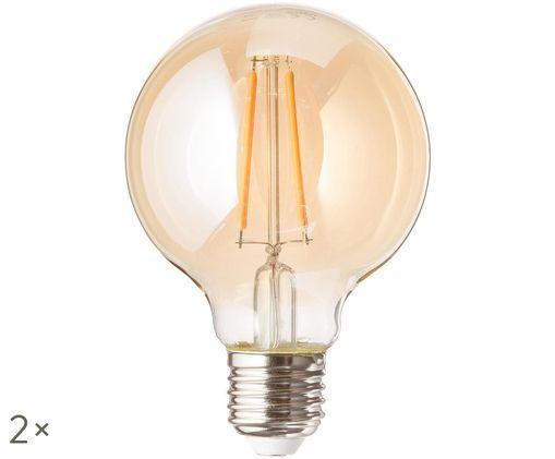 LED peertjes Jukar (E27/3W), 2 stuks, Amberkleurig