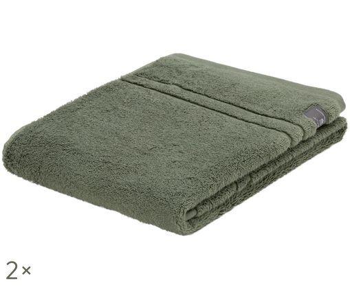 Asciugamano Premium Terry, 2 pz., Verde