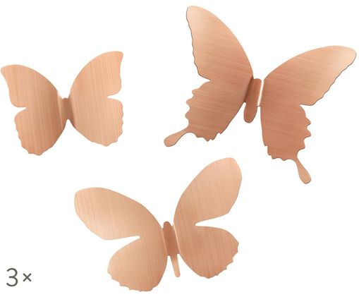Set decorazioni Mariposa, 9 pz., Dorato