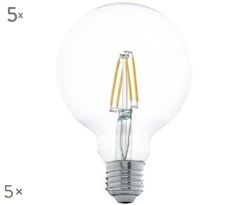 LED-Leuchtmittel Cord (E27 / 5Watt) 5 Stück, Transparent