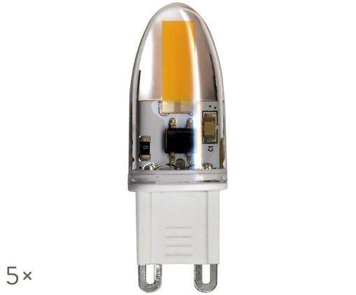 Bombillas LED Halo (G9/4W) 5uds., Transparente