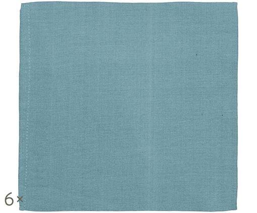 Tovagliolo di stoffa Amadeus, 6 pz., Blu