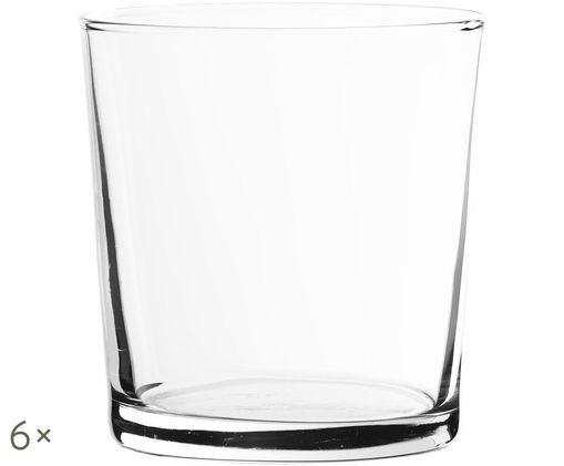 Vasos de agua Simple, 6uds., Transparente