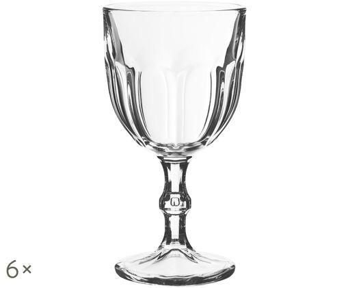 Bicchieri Lousanne. 6 pz., Trasparente