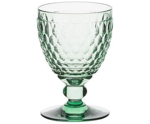Bicchiere per il vino rosso Boston, Verde