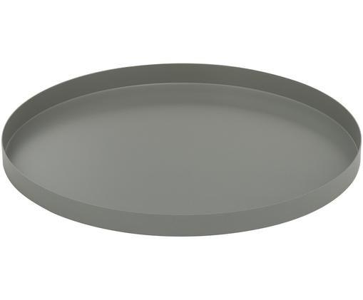 Deko-Tablett Circle, Grau