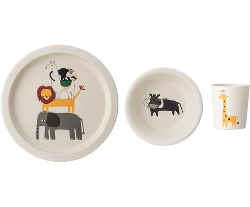 Frühstück-Set Safari, 3-tlg.