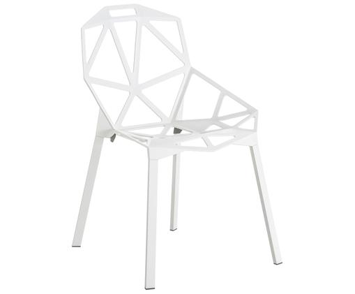 Stoel Chair One, Wit