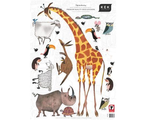 Wandaufkleber-Set Animals, 20-tlg.