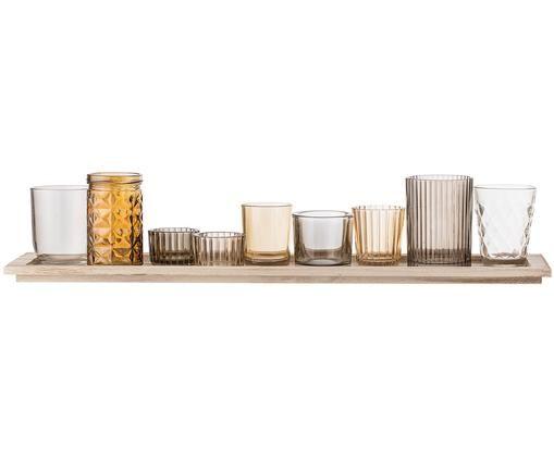 Teelichthalter-Set Wessel, 10-tlg.