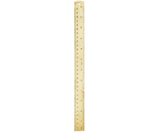 Righello Ruler, Ottone, Ottone, L 31 cm