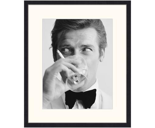 Gerahmter Digitaldruck James Bond Drinking