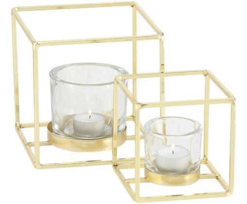 Teelichthalter-Set Pazo, 2-tlg.