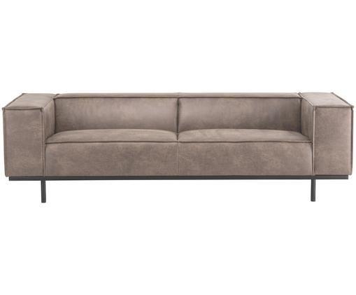 Leder-Sofa Abigail (3-Sitzer)