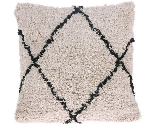 Kissen Diamond mit getufteter Oberfläche, mit Inlett