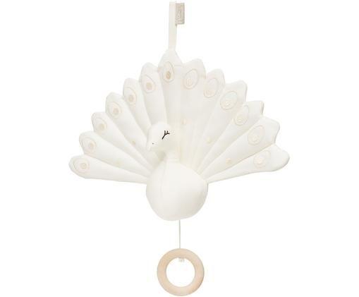 Spieluhr Peacock aus Bio-Baumwolle