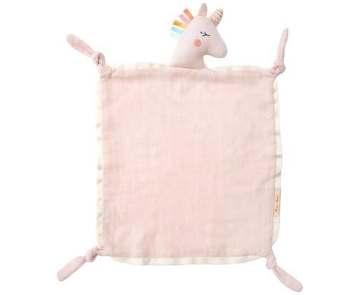 Schmusetuch Unicorn aus Bio-Baumwolle